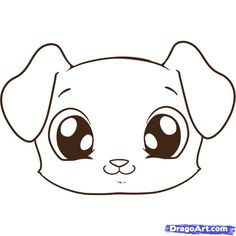 How to Draw a Cute Puppy Face Step by Step Learn how to Draw a