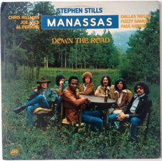Stephen Stills, Manassas - Down The Road LP Vinyl Record Album, Atlantic - SD 7250, Folk Rock, Country Rock, 1973, Original Pressing