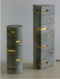 "Brett Piper ""Concrete Lamps"" #ConcreteLamp"