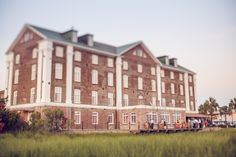 Historic Rice Mill Building www.southernchicweddings.com Richard Bell Photography via The Wedding Row