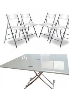 Shop for space saving furniture such as the amazing transformable junior giant table online with Expand Furniture, where you can find expanding tables. Space Saving Dining Table, Dining Table Sizes, Table For Small Space, Modern Dining Table, Dining Table Chairs, Dining Set, Small Spaces, Convertible Table, Convertible Furniture