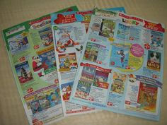 getting excited to see the scholastic flyers at school