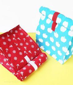 DIY Lunchbags nähen | Frühstückstasche selber nähen | lunchbag sewing | waseigenes.com