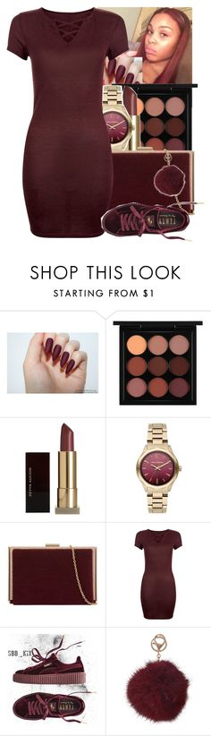"""""""💞"""" by princessjolie ❤ liked on Polyvore featuring MAC Cosmetics, Kevyn Aucoin, Karl Lagerfeld, Puma and Humble Chic"""