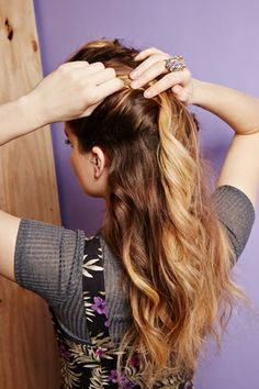 4+Dirty-Hair+'Dos+For+Busy+Girls+#refinery29