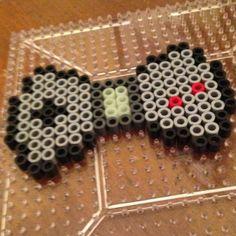 Gameboy bow perler beads by plur_warrior_armor
