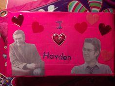 Hayden Christensen wallet (Back)