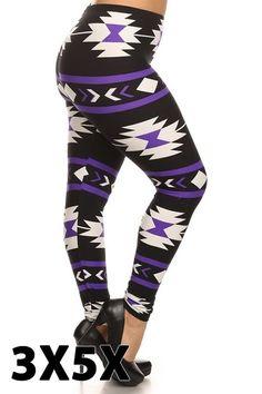 Purple Aztec