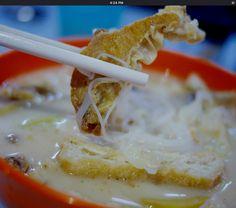 Fish Head Noodles - Big Tree Fried Pan Mee @ Jalan Sepadu, Taman United @ Seputeh 58200 Kuala Lumpur. GPS Coordinates: N 3 05.054, E 101 40.461 Business hours: 5.30pm to 11pm - courtesy of BangsarBabe