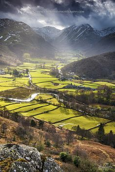 Borrowdale, Lake District - Lake District & Cumbria, UK so stunningly beautiful More