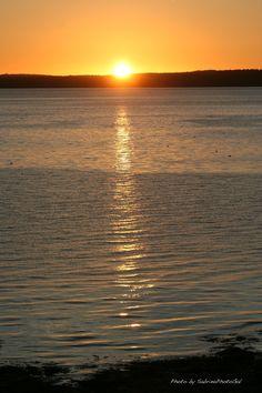 Bar Harbor, Maine at sunrise