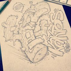 LUNCH SCRIBBLES 1 by Craig Patterson - Absorb81, via Behance