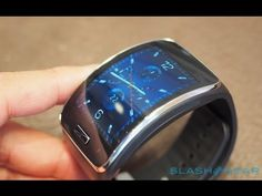 Galaxy Gear S hands on - IFA 2014 - YouTube Samsung Gear S, Gears, Smart Watch, Tech, Hands, My Style, Science, Electronics, Youtube
