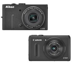 Nikon CoolPix #P310 vs Canon Powershot #S100