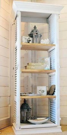 Made with old shutters