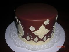 A simple chocolate cake!    -Created by Agnes Trinidad