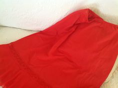 Pretty Vintage Red Half Slip Charmode Nylon by nanciesvintagenest, $24.00