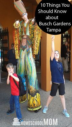 10 Things you Should Know about Busch Gardens Tampa - Great tips for taking your child to Busch Gardens Tampa.