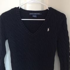 Navy Blue Ralph Lauren Polo Cable Knot Sweater Warm and cozy  ALL BUNDLES NOW 20% OFF FOR LIMITED TIME Polo by Ralph Lauren Sweaters