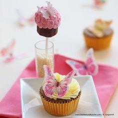 Mohn-Cupcakes mit Orangencreme » Foto: A. Jungwirth
