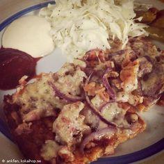 Recept - LCHF Pizza