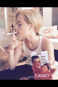 Little Princess Sixteen Jones - wait what - Smokin Candy Cigarettes -  Die Antwoord