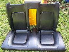 03-10 VW Volkswagen Beetle Convertible Leather Rear Seat OEM