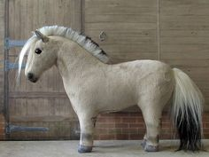 Your place to buy and sell all things handmade Plush Horse, Fjord Horse, Soft Fabrics, Pony, Miniatures, Fur, Horses, Model, Handmade