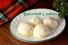 butterball, cookies, tea, wedding, nuts, powdered sugar, butter, recipe