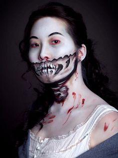 pride & prejudice & zombies makeup!!