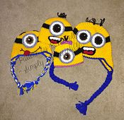 Ravelry: Minion Hat with Optional Earflaps pattern by Ruth McColm