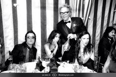 With my friends Gina Gershon, Matt Sorum, Juliette Lewis & Gilby Clarke at Matt's Wedding, October 2013.