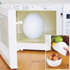 Enjoy perfect hard or soft boiled eggs right from the microwave! The Micro Perfect™ Egg Cooker makes perfect hard boiled and soft boiled egg...