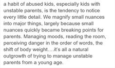 This Person Explains Why Children From Abusive Families Analyze Every Single Detail And It's Heartbreaking - Co-parenting Writing A Book, Writing Prompts, Writing Tips, Trauma, Mental And Emotional Health, Emotional Abuse, Family Quotes, Life Quotes, Qoutes