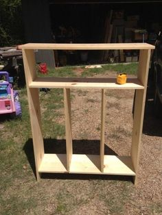 How to Build an Entryway Kids Locker - Blissfully Domestic