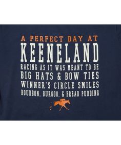 Perfect Day at Keeneland