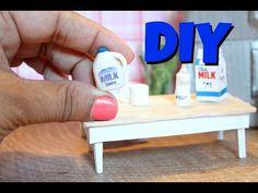 DIY Miniature Milk - YouTube