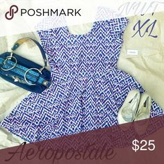 Selling this Nwt Aeropostale skater dress XL on Poshmark! My username is: spyral. #shopmycloset #poshmark #fashion #shopping #style #forsale #Aeropostale #Dresses & Skirts