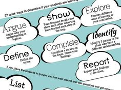 Here are 22 simple assessment strategies and tips to help you become more frequent in your teaching, planning, and curriculum design. Teaching Strategies, Teaching Tips, Learning Resources, Student Learning, Thinking Strategies, Teaching Math, Instructional Coaching, Instructional Design, Feedback For Students