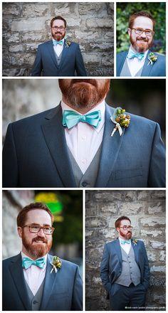 Bearded Groom | Basin Park Hotel | Leah Marie Landers Photography