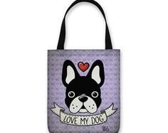 Bolsa Sacola Bulldog - Bolsa Tote Bag
