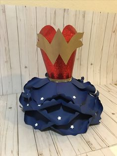 Wonder women extra large paper dress