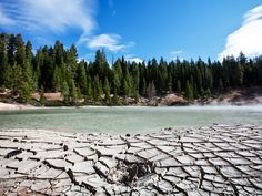 Lassen Volcanic National Park is located about eight miles northeast of Mineral, CA, or fifty miles east of Red Bluff, CA on Highway 36 or 50 miles east of Redding, CA on Highway 44.