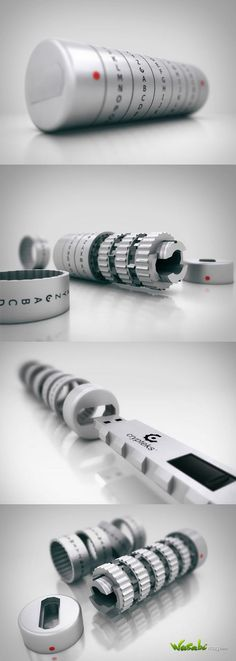 CRYPTEKS | SECURE AND DESIGN USB #futuristictechnology