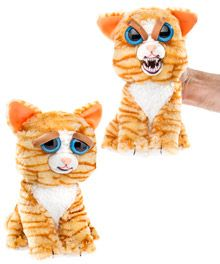 Feisty Pets are cute plush toys that turn from darling to demonic with a quick squeeze.