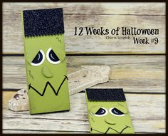 The Candy Bar Holder is the project for the 12 Weeks of Halloween. I used Old Olive card stock for the candy bar holder and I used the Black Glimmer Halloween 2015, Funny Halloween Costumes, Halloween Projects, Halloween Cards, Holidays Halloween, Halloween Treats, 3d Projects, Halloween Favors, Halloween Stuff