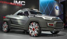 2017 Futuristic Yuhu Concept Pickup Truck