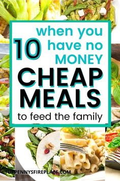 Tasty super cheap and easy meals that won't break your budget. Crock pot and 3 ingredient recipes along with vegetarian and low carb. Dirt cheap meals that are super tasty. Frugal meals for the whole family that can cost just pennies. meal planning made simple with these cheap dinners. Dirt Cheap Meals, Cheap Dinners, Frugal Meals, Easy Meals, 3 Ingredient Recipes, Save On Foods, Meal Planning Printable, Pennies, Fossils