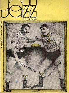 Cover for Jazz Magazine