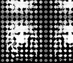 Silver back Lion fabric by nascustomwallcoverings on Spoonflower - custom fabric